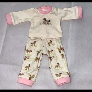 American Girl Horse-themed Pajamas